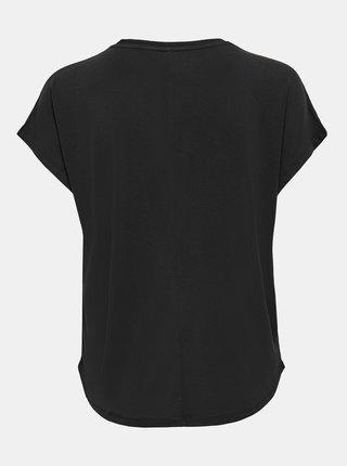 Černé volné tričko ONLY Free