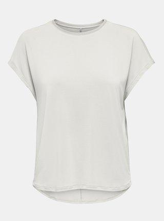 Bílé volné tričko ONLY Free