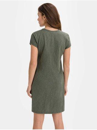 Zelené dámské šaty v-ss pkt tee dress