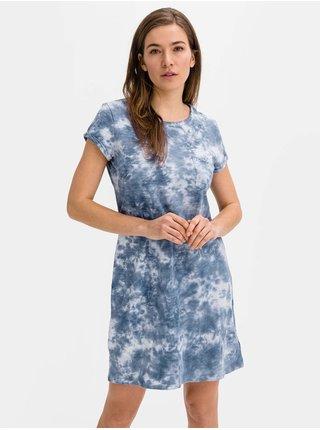 Šaty v-ss pkt tee dress Modrá