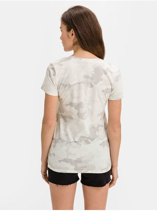 Šedé dámské tričko v-ss fav v nvl