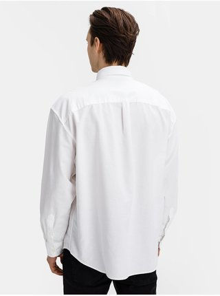 Bílá pánská košile ls ox oversized