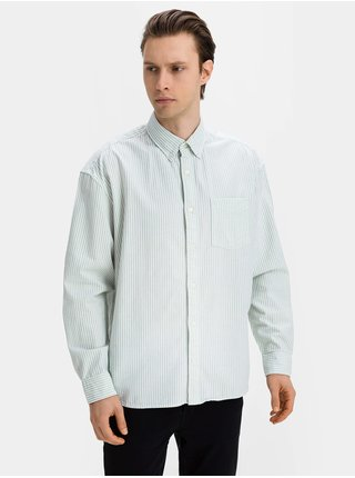 Košeľa oxford big shirt Zelená
