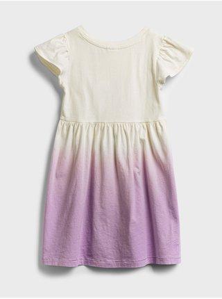 Detské šaty GAP Logo skater dress Farebná