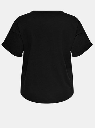 Černé tričko ONLY CARMAKOMA Kaylee