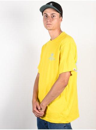 Element CHROME BRIGHT YELLOW pánské triko s krátkým rukávem - žlutá