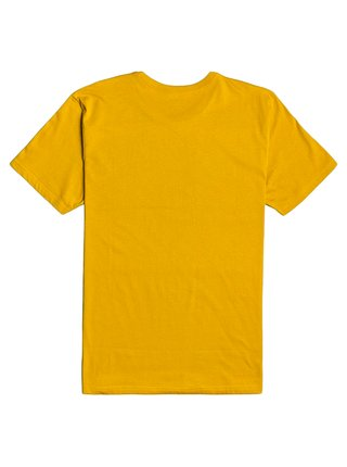 Billabong UNITY STACKED MUSTARD pánské triko s krátkým rukávem - žlutá