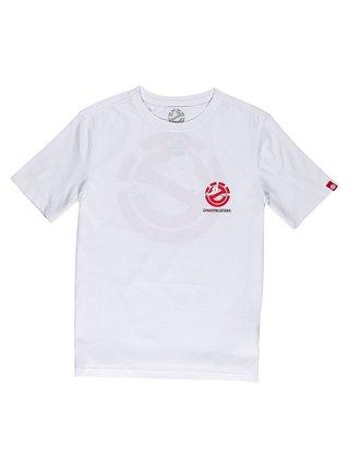 Element BANSHEE OPTIC WHITE pánské triko s krátkým rukávem - bílá