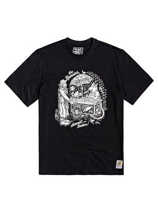 Element VENDOR FLINT BLACK pánské triko s krátkým rukávem - černá