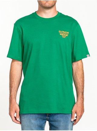 Element CURRY VERDANT GREEN pánské triko s krátkým rukávem - zelená