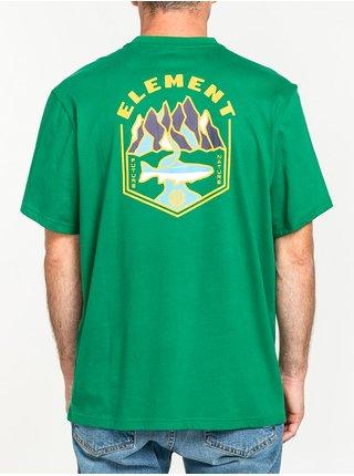 Element SORA VERDANT GREEN pánské triko s krátkým rukávem - žlutá