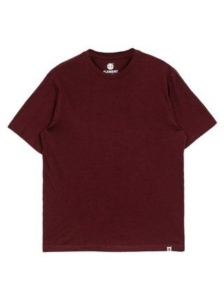 Element BASIC CREW VINTAGE RED pánské triko s krátkým rukávem - červená