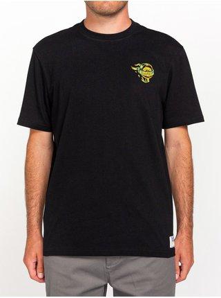 Element ANTIDOTE STATE FLINT BLACK pánské triko s krátkým rukávem - černá