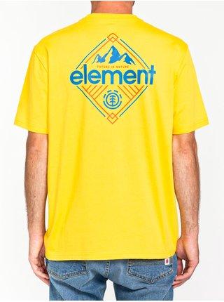 Element DUGGAR DANDELION pánské triko s krátkým rukávem - žlutá