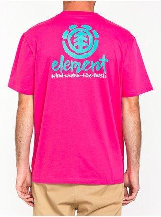 Element HENKE FUSHIA RED pánské triko s krátkým rukávem - růžová