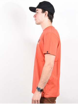 Quiksilver TROPICAL LINES CHILI pánské triko s krátkým rukávem - oranžová