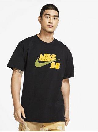 Nike SB  LOGO black pánské triko s krátkým rukávem - černá