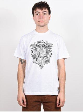 Element NEWS MAN OPTIC WHITE pánské triko s krátkým rukávem - bílá