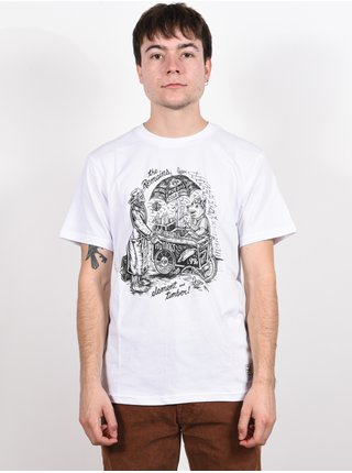 Element VENDOR OPTIC WHITE pánské triko s krátkým rukávem - bílá
