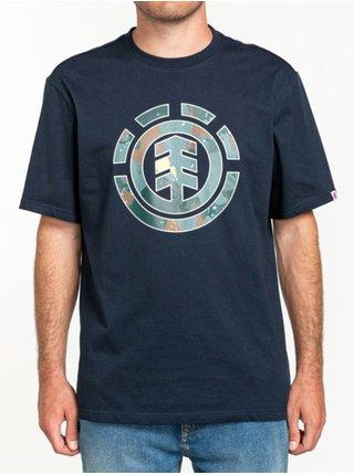 Element WATER CAMO ICON FILL FLINT BLACK pánské triko s krátkým rukávem - černá