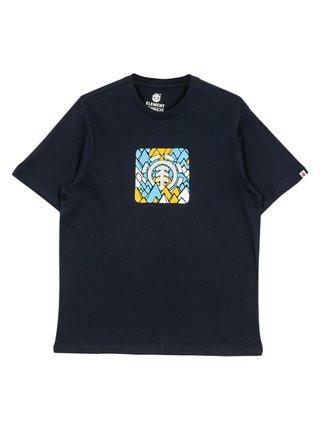 Element PALETTE ECLIPSE NAVY pánské triko s krátkým rukávem - modrá