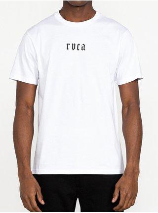 RVCA BJJ SNAKE white pánské triko s krátkým rukávem - bílá