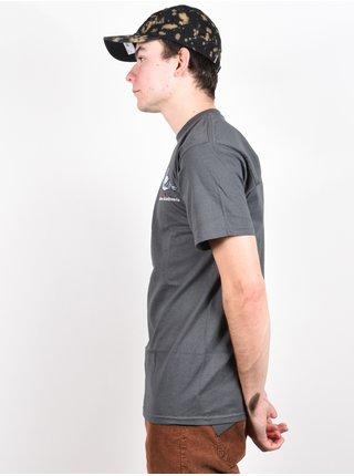 Antihero LIL PIGEON CHARCOAL/MULTI pánské triko s krátkým rukávem - šedá