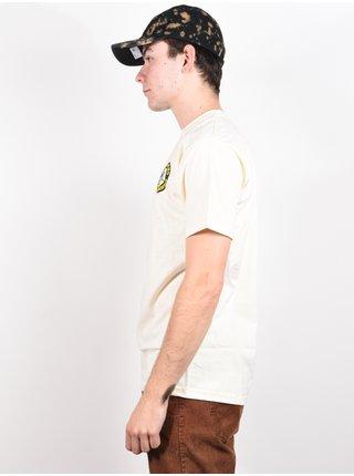 Antihero PIGEON ROUND CREAM/MULTI pánské triko s krátkým rukávem - bílá