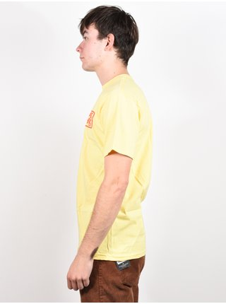 Antihero RESERVE BANANA/RED pánské triko s krátkým rukávem - žlutá