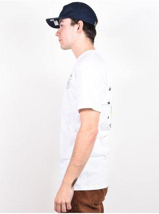 Spitfire SLAG WHT/MULTI pánské triko s krátkým rukávem - bílá