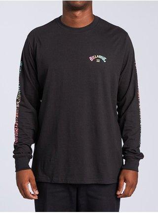 Billabong DBAH black pánské triko s dlouhým rukávem - černá