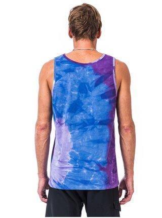 Horsefeathers BAM Tie Dye pánská tílko - modrá