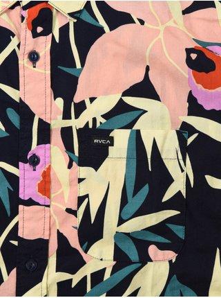 RVCA TANGIER PAISLEY MULTI košile pro muže krátký rukáv - barevné