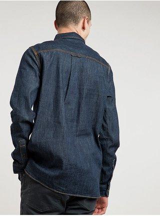 Element PACE  RINSE pánské košile s dlouhým rukávem - modrá