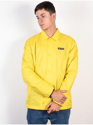 Element PRIMO COACH INSULATO BRIGHT YELLOW pánské košile s dlouhým rukávem - žlutá