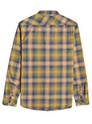 Billabong COASTLINE GOLD pánské košile s dlouhým rukávem - modrá