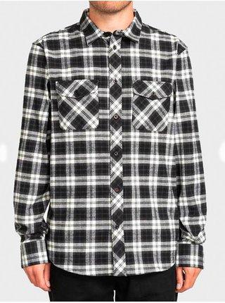 Element WENTWORTH SKYDIVER pánské košile s dlouhým rukávem - černá