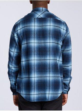 Billabong COASTLINE NAVY pánské košile s dlouhým rukávem - modrá