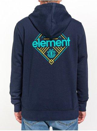 Element DUGGAR ECLIPSE NAVY pánská mikiny na zip - modrá
