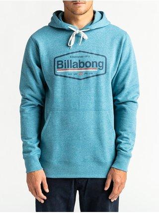 Billabong MONTANA BAY BLUE mikiny přes hlavu pánská - modrá