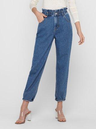 Modré mom džíny ONLY