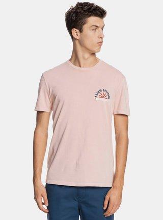 Růžové tričko Quiksilver Quiksilver