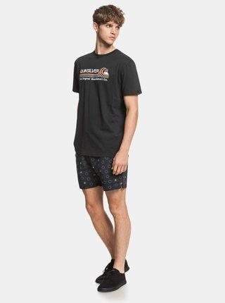 Černé tričko Quiksilver Quiksilver