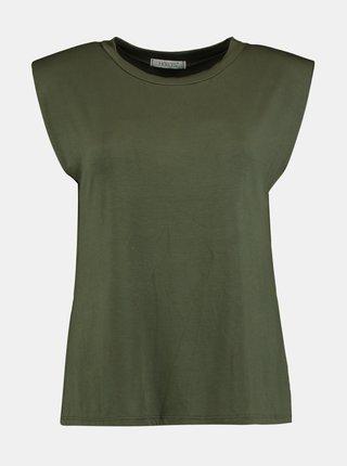 Zelené volné tričko Hailys