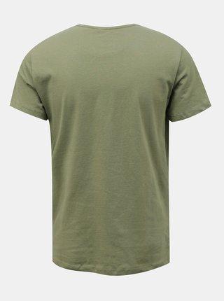 Zelené tričko s potlačou Blend