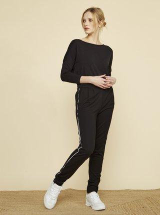 Černé dámské kalhoty s proužkem ZOOT Baseline Xenia