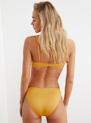Žltý spodný diel plaviek Trendyol