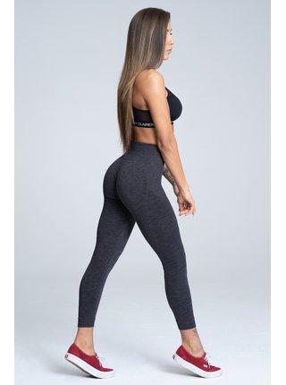 Legíny Gym Glamour Bezešvé Grey Melange