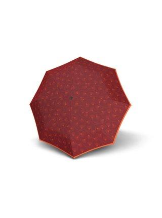 Doppler Magic Fiber Style II plně automatický deštník - Červená