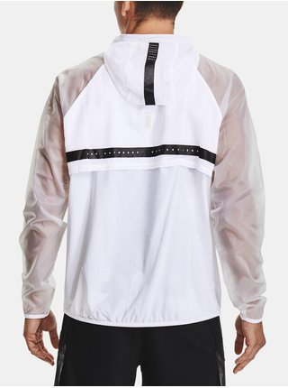 Bunda Under Armour UA Run Anywhere Anorak-WHT
